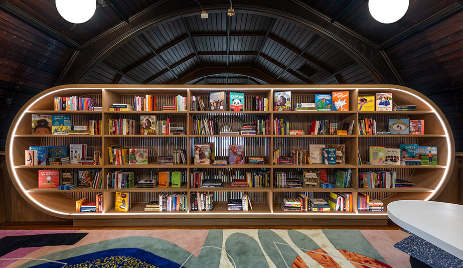 MKCA Creates a Cozy Kids' Library in the Bronx