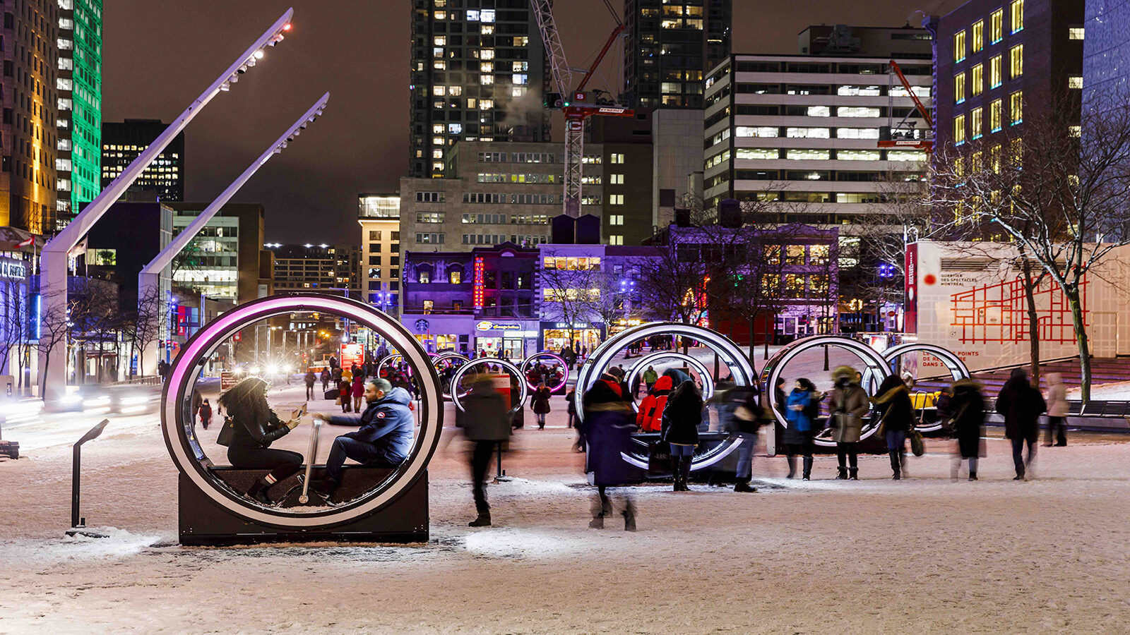 Montreal Does Light Therapy on an Urban Scale