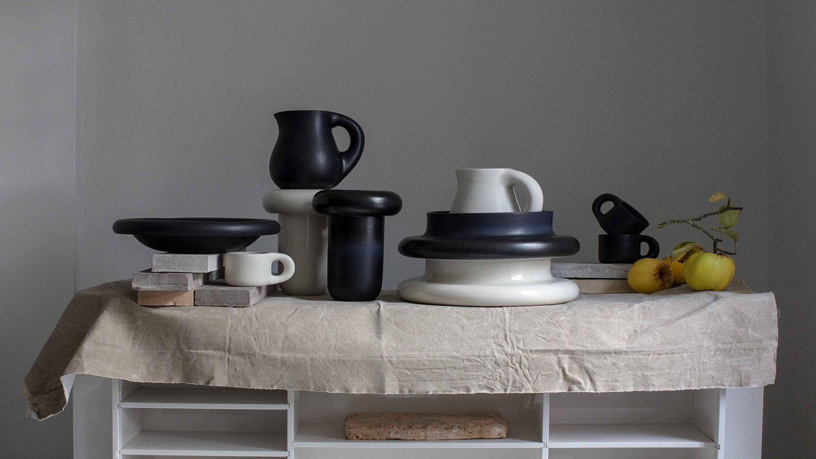Faye Toogood's Elemental Stoneware Collection
